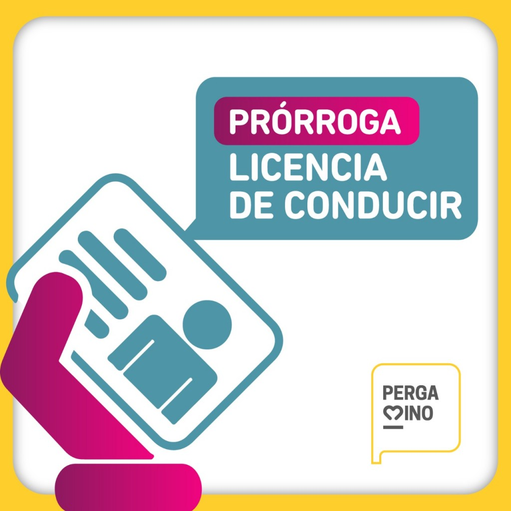 Prórroga de licencias de conducir