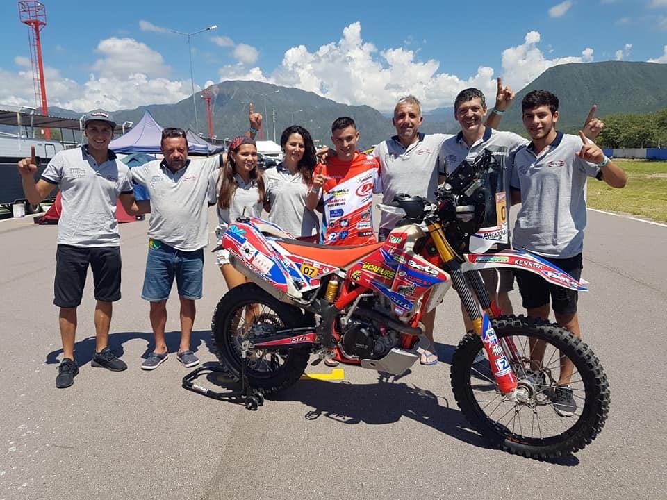 Joaquín Debeljuh Taruselli pone primera en la segunda edición del South American Rally Race en La Rioja