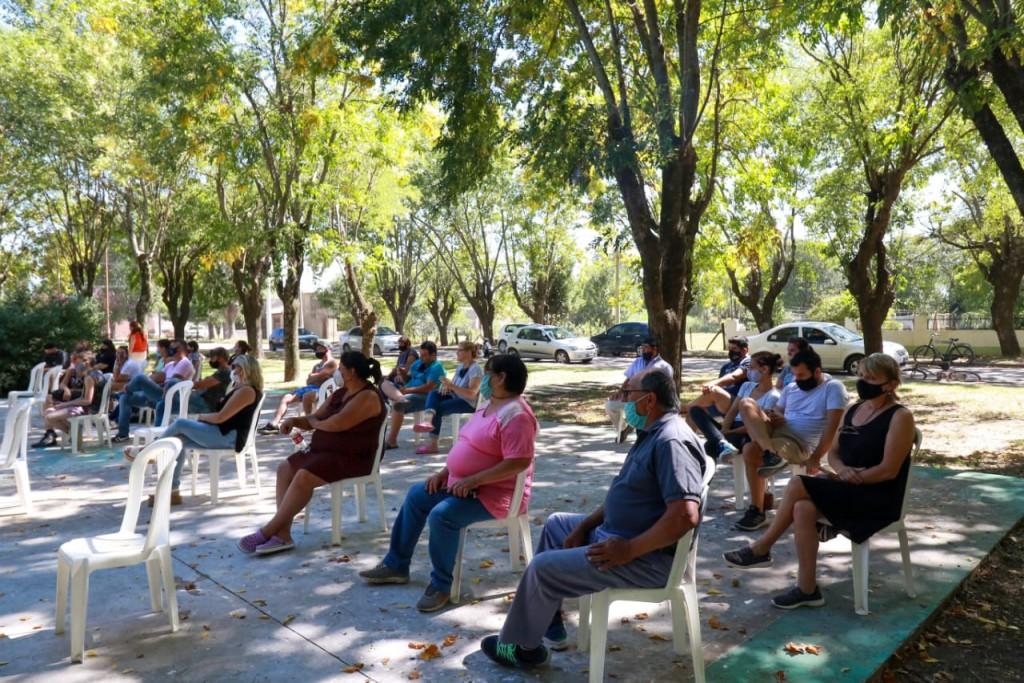 Solares sigue creciendo: se entregaron nuevos lotes con servicio en Rancagua