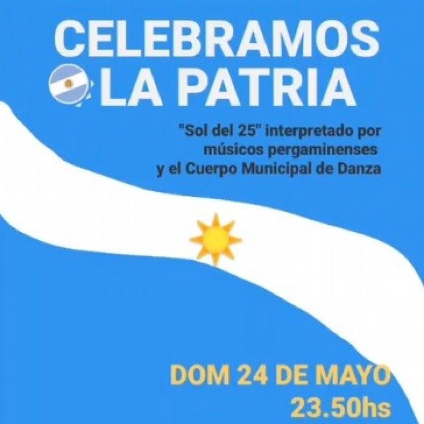 Festejo del 25 de mayo en modalidad virtual
