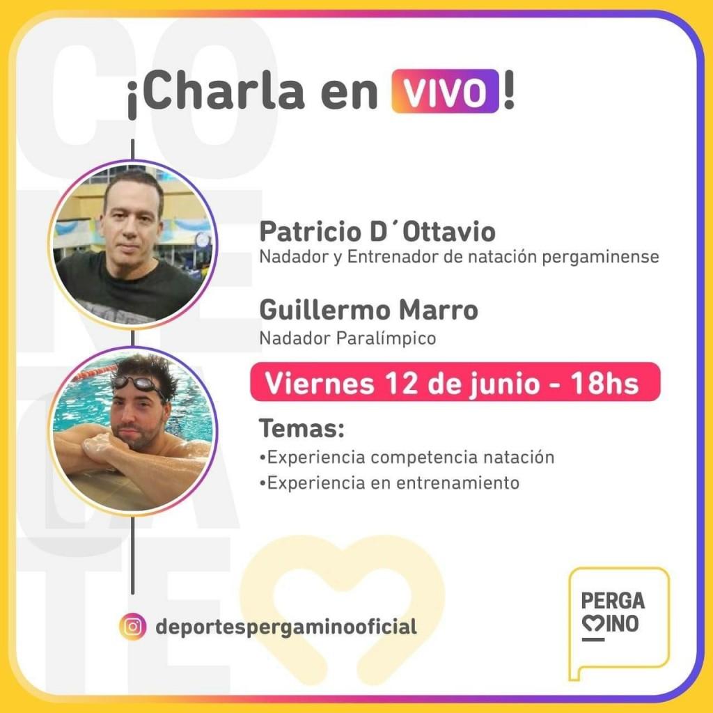 Charla virtual de Guillermo Marro y Patricio D´Ottavio