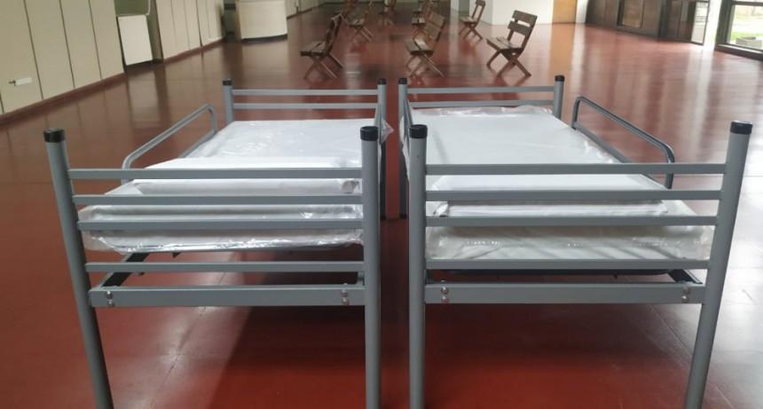 Nuevo ingreso de camas e insumos para el Hospital