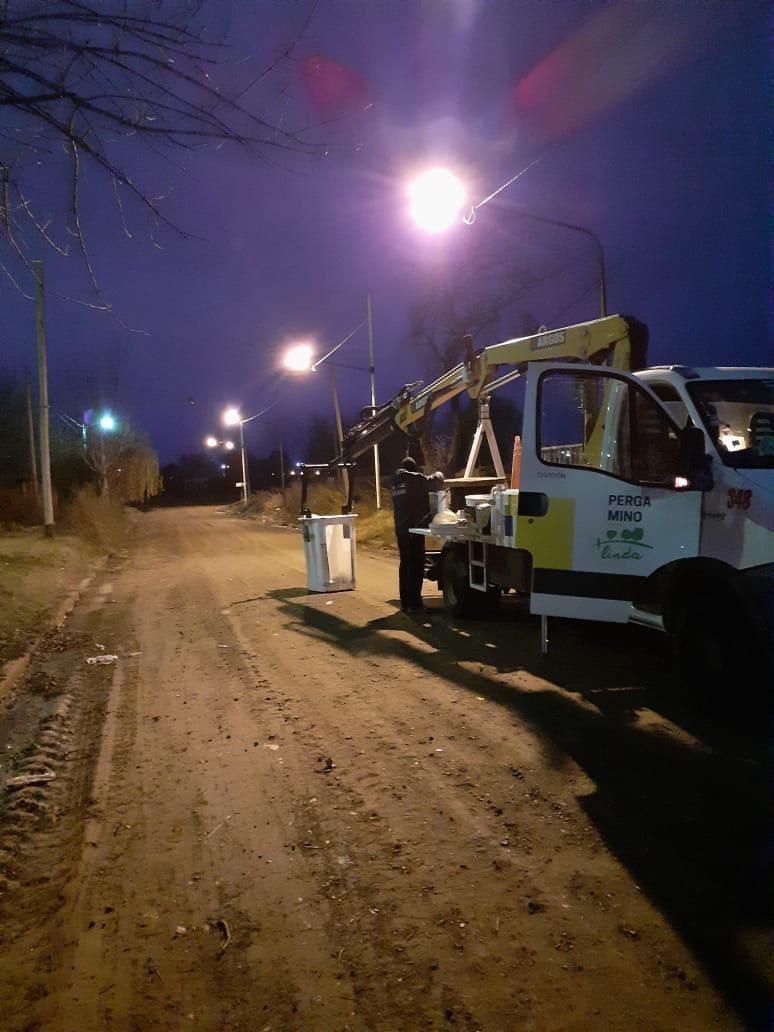 Obras en el Barrio La Rural
