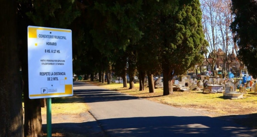 Obras en el cementerio municipal