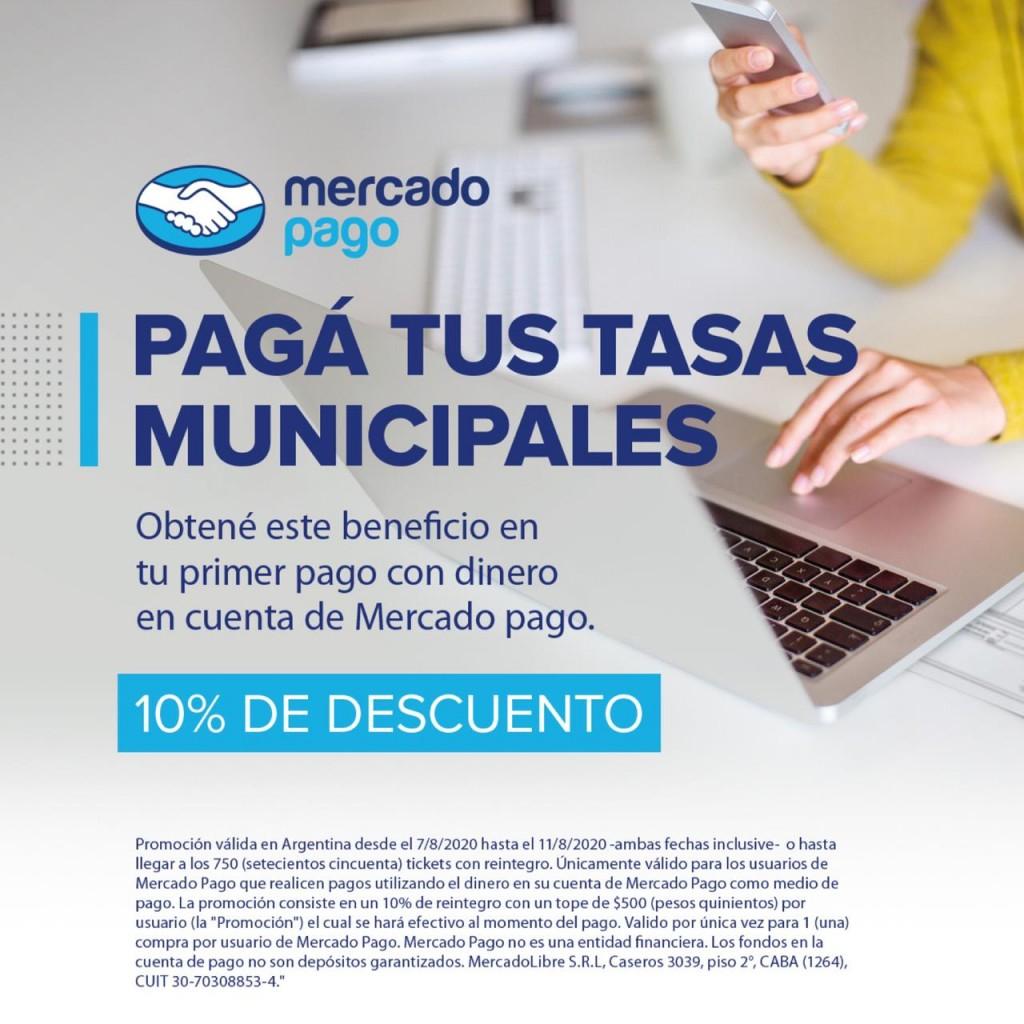 La Dirección de Rentas informa novedades junto a Mercado Pago.