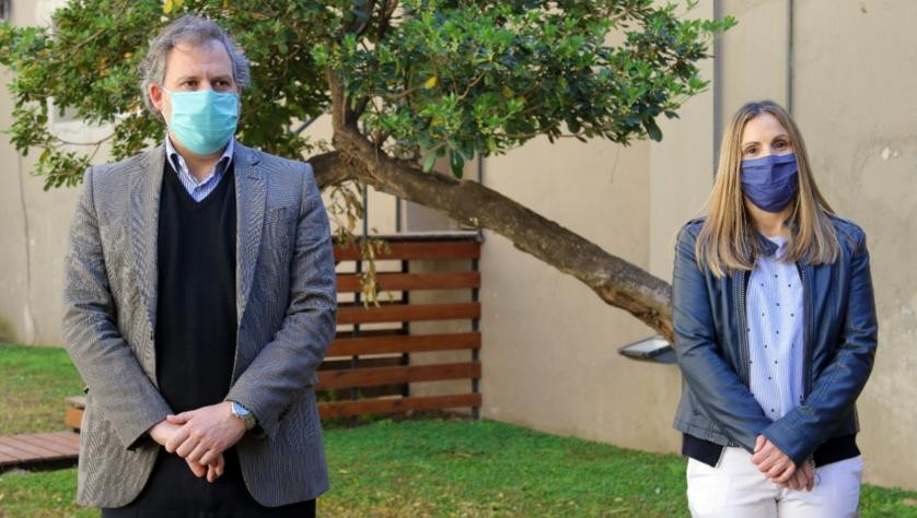 """María Martha Perretta: """"Nos tenemos que volver a cuidar como al principio"""""""