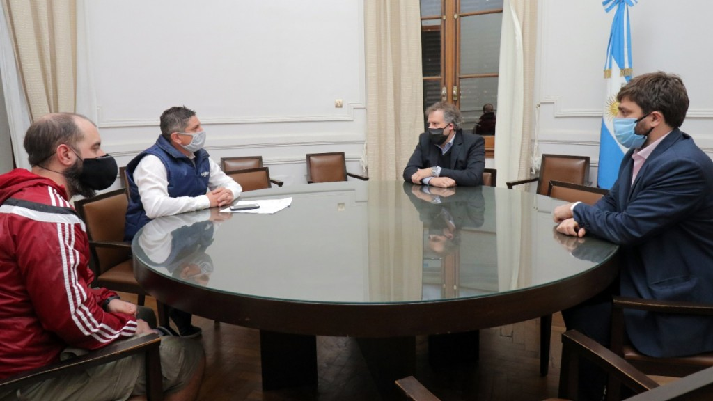 Representantes del Bingo y de Utgrha fueron recibidos por autoridades municipales