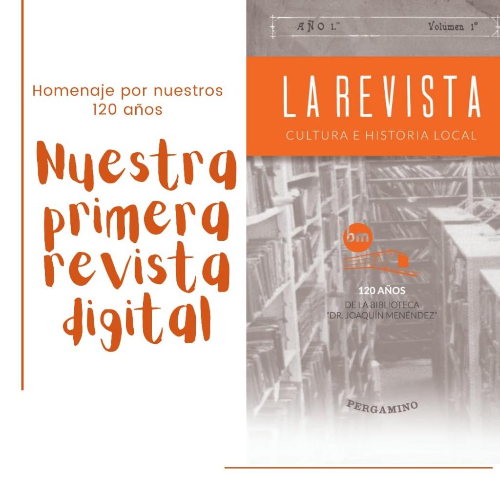 La Biblioteca Menéndez presentó su nueva revista institucional